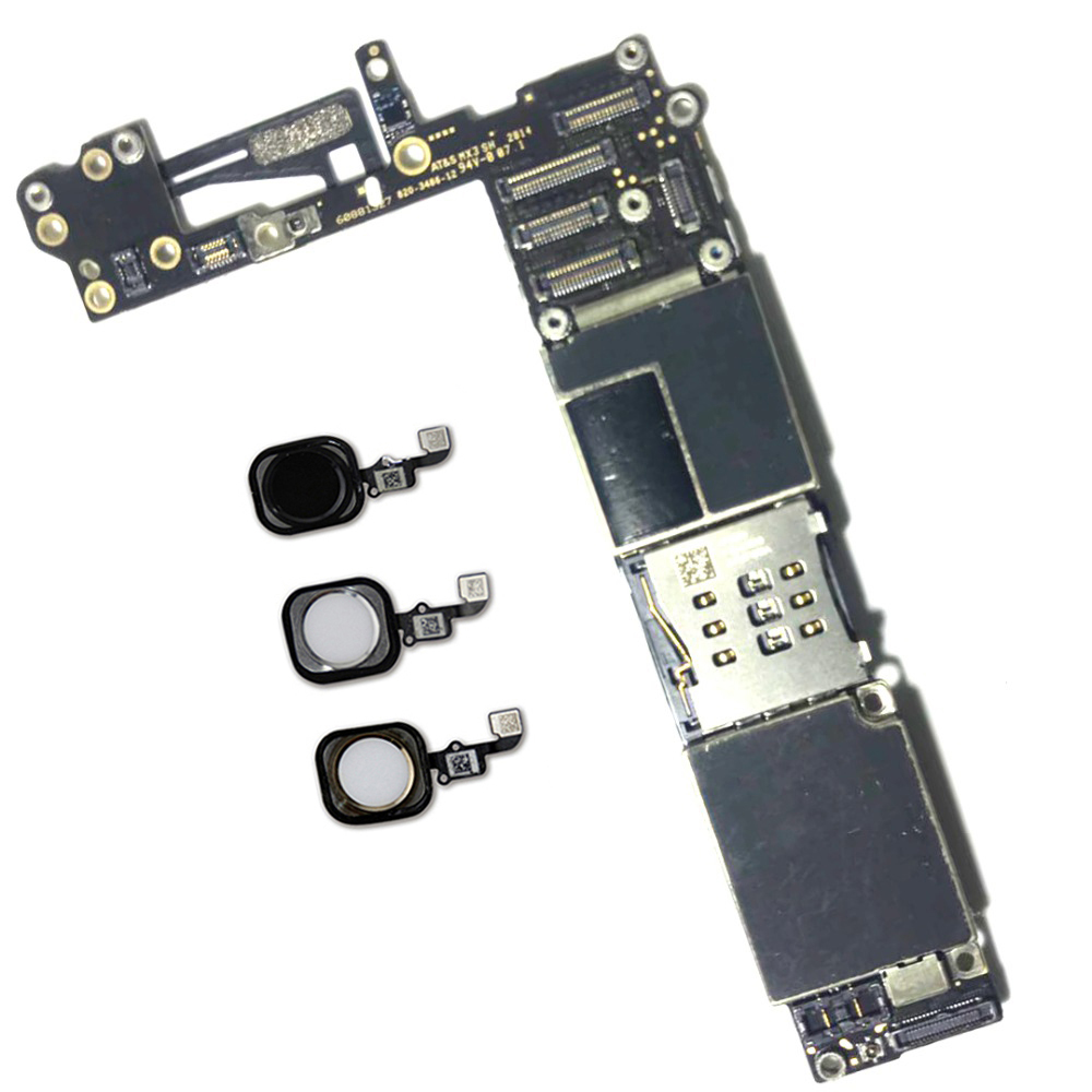 64gb Original Unlocked For Iphone 6 Motherboard With Touch ID Function,for Iphone 6 Mainboard,Good Quality & Free Shipping
