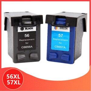 C6656a C6657a чернильный картридж для hp 56 57 для hp 56 для hp 57 56XL 57XL с чернилами hp Deskjet 450 450cbi 450ci 450wbt F4140 F4180 5150 5550