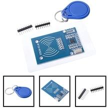 Высокое качество MFRC-522 RC522 беспроводной считыватель RFID карта rfic Индуктивный Сенсор модуль для Arduino модуль+ S50 NFC карта+ NFC связка ключей