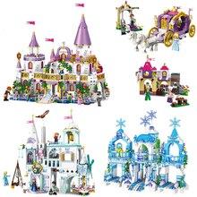 731 stücke Romantische Prinzessin Burg Bausteine Kompatibel Mit Freund Mädchen Spielzeug Geschenke Kinder Montage Ziegel Freund Modell Spielzeug