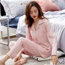 Kadın % 100% pamuklu pijama kış pembe yatak odası pijama PJ bayanlar pijama Mujer Dormir ev giysileri saf pamuk pijama Femme