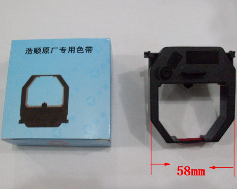 Посещаемость машина лента двухцветная лента рамка K5 K6 ET6500 ET6300 пробивная карта Универсальная лента