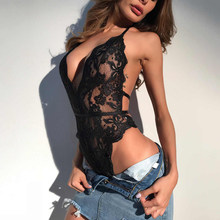 Sexy Hollow Lingerie Women Bra Set Lace Perspective Deep V Hot Erotic Underwear Hot Erotic Baby Dolls Sexy Lingerie Set