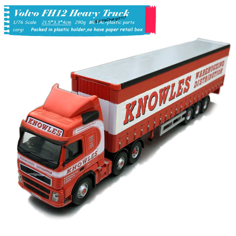 Corgi 1/76 Scale Volvo FH12 FH Container Heavy Truck Diecast Metal Car Model Toy For Gift,Kids,Collection