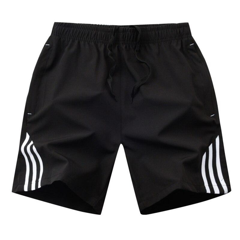 Striped Shorts Men Summer Men's Sportswear Casual Boardshorts Man Pocket Breathable Mens Short Trousers New Fashion