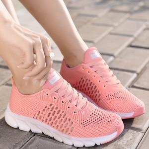 2020 primavera novos tênis femininos sapatos casuais malha de ar sapatos femininos para mulher