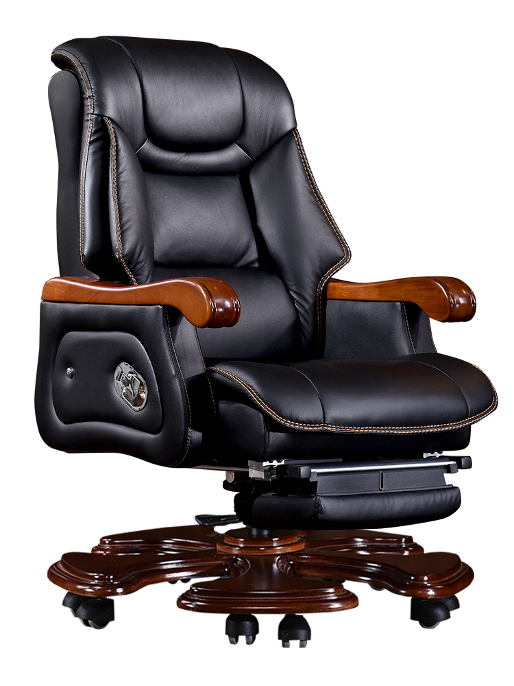Genuine Leather Cadeira Executive Office Chair Office Furniture Boss Sedia Ufficio Sedie  Light Luxurious Armchair
