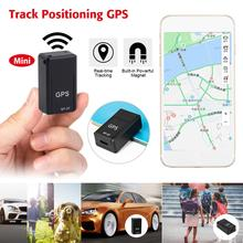 Mini GPS Magnetic Tracker Car GPS Locator Real-time Tracker Anti-Lost Recording Tracking Device Voice Control Can Record gt001 mini magnetic gps tracker locator car vehicle real time tracking system device gps locator