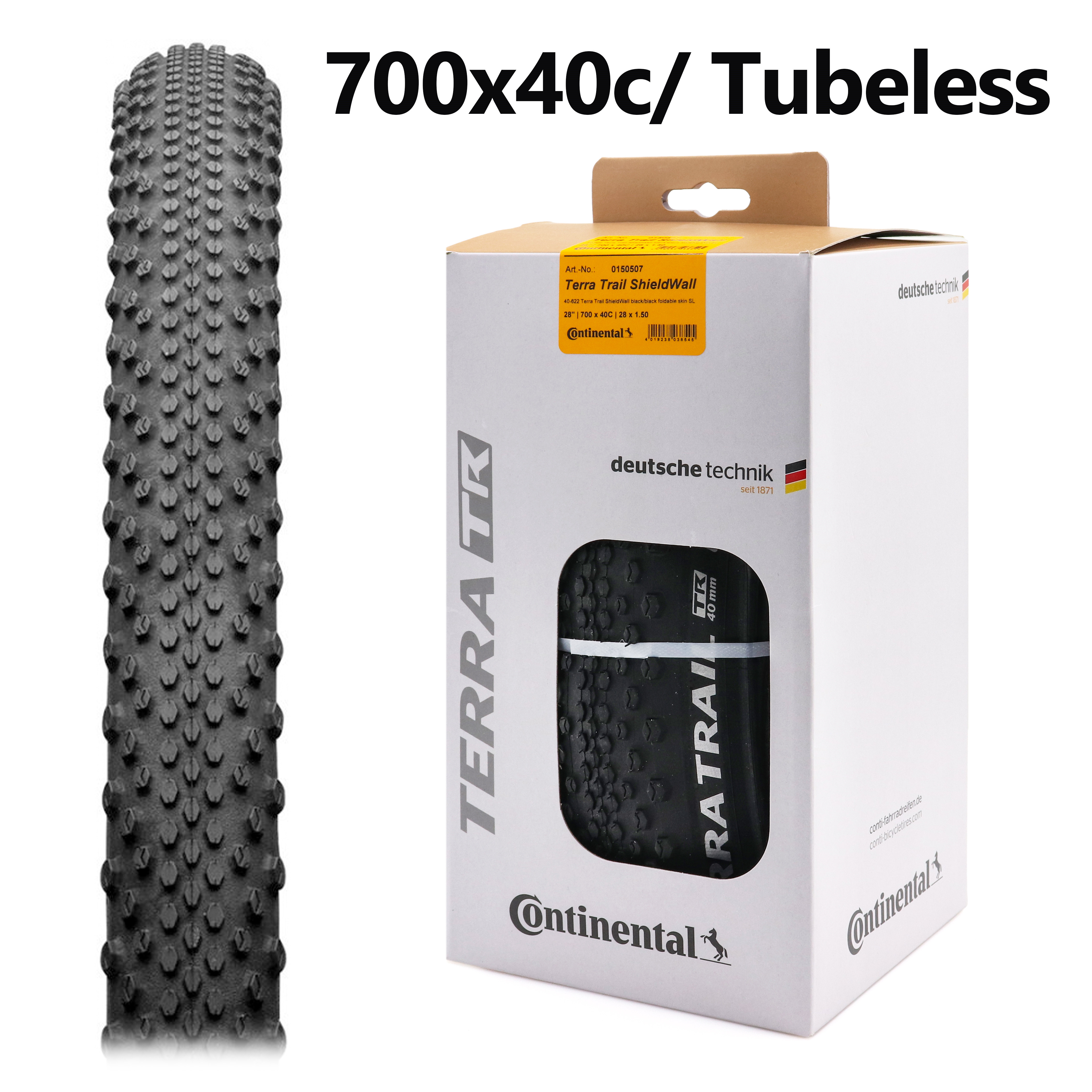 Защитная шина Continental Terra Trail 28 дюймов, складная бескамерная шина для шоссейного велосипеда, 700x40c
