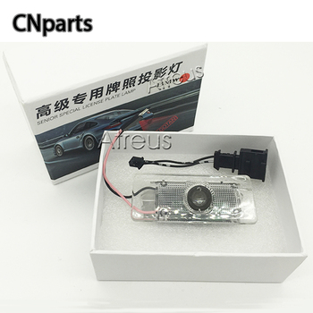 Auto Car LED License Plate Light 12V For BMW E46 E60 E36 E90 E30 F10 F30 X5 X3 X1 M Logo Canbus LED Logo projector Laser Lamp image