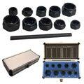 11 teile/satz Beschädigt Schrauben Muttern Schrauben Remover Extractor Entfernung Werkzeuge Set Threading Werkzeug Kit Handwerkzeuge Set-in Handwerkzeug-Sets aus Werkzeug bei