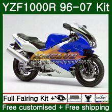 Набор для ухода за кожей YAMAHA YZF1000R Thunderace 1996 2007 61CL. 5 синий YZF-1000R YZF 1000R 96 97 98 99 00 01 02 03 04 05 06 07 обтекатель