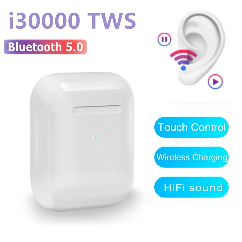 <font><b>i30000</b></font> Global Version True Wireless bluetooth headset <font><b>TWS</b></font> 5.0 Earphones DSP With Mic <font><b>Original</b></font> image