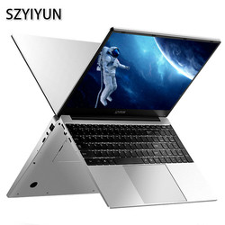 15.6 Inci, Core I5-4200U Intel Laptop 8GB RAM 64G-1024G SSD Windows 10 Logam Kantor Notebook game Komputer Kerja Laptop
