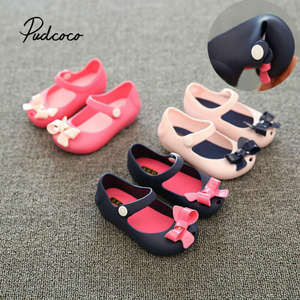 Pudcoco Girls Shoes Sandals Jelly Fashion Summer Beach Children's PVC Party
