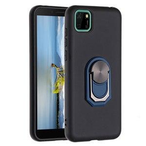 Чехол Honor 9S, Модный мягкий силиконовый чехол из ТПУ для Huawei Y5P Y5P 2020, роскошный автомобильный держатель, мобильный телефон, защитная задняя кр...