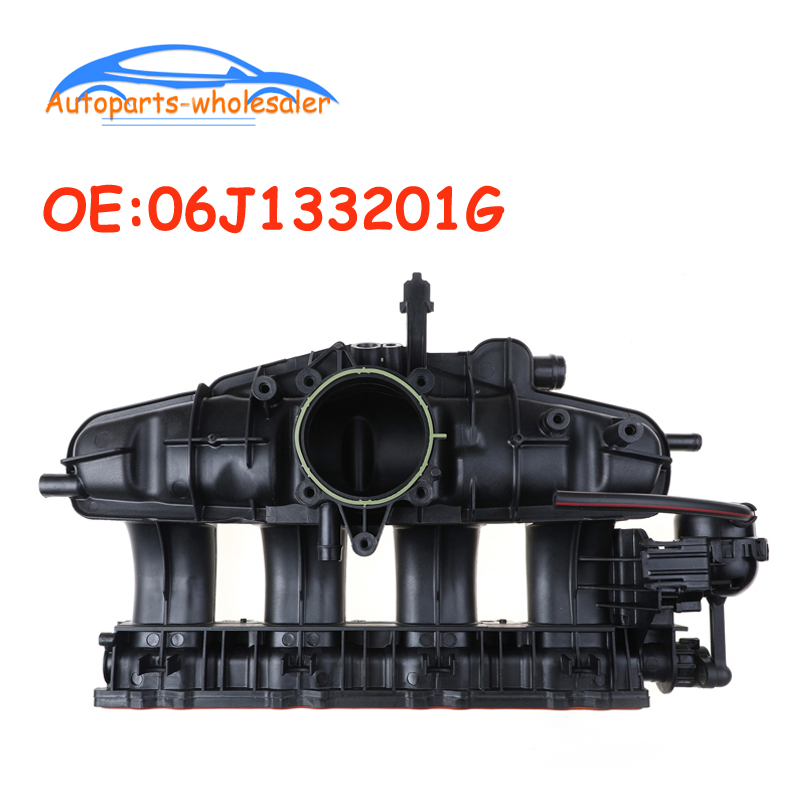 Coche 06J133201G 06J-133-201G 06J-133-201BD colector de admisión para Audi A3 TT para Volkswagen CC J Passat EOS G TI tizan
