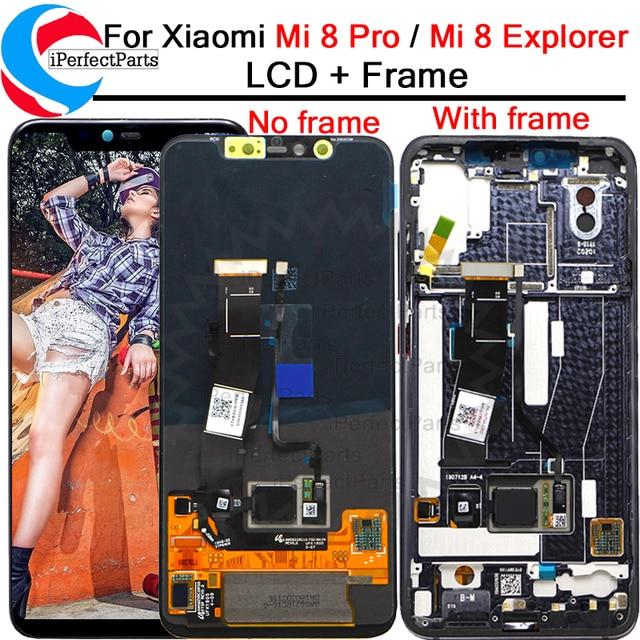 6.21 für Xiaomi Mi 8 Pro LCD Display Touch Screen Digitizer mit frame Assembly Ersatz + Werkzeuge Für Mi 8 Explorer