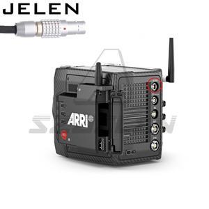 Image 4 - ARRI ALEXA MINI LF Camera Audio Line,New 0B 6Pin Male Connector Audio Port  Double Track LINE IN Cable for  ARRI ALEXA MINI LF