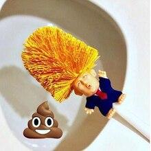 Toilet-Brush-Holders Donald Trump WC in Again Crap Commander Make Great Borstel Dropship
