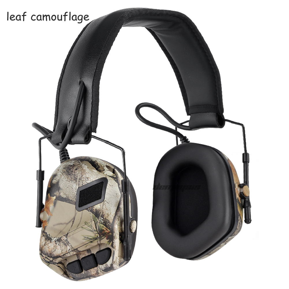 tático exército airsoft fone de ouvido caça paintball anti-ruído earmuffs