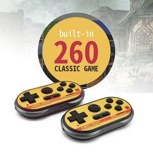 Image 3 - Data Frog Mini consola de videojuegos para FC30 Pro, consola de videojuegos portátil de 8 bits con 260 juegos clásicos, compatibilidad con salida de TV