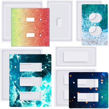 Light-Switch-Cover Usb-Socket Wall Mould Hand-Tool Epoxy-Casting-Craft-Decor DIY Double-Light
