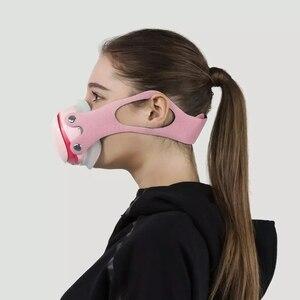 Image 2 - Youpin Hootim Elektrische Anti Waas Steriliseren Masker Biedt Actieve Air Supply Elektrische Masker Voor Herfst Winter Fog