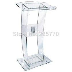 Gratis Verzending Hoge Kwaliteit Prijs Redelijk Goedkope Clear Acryl Podium Preekstoel Lessenaar plexiglas
