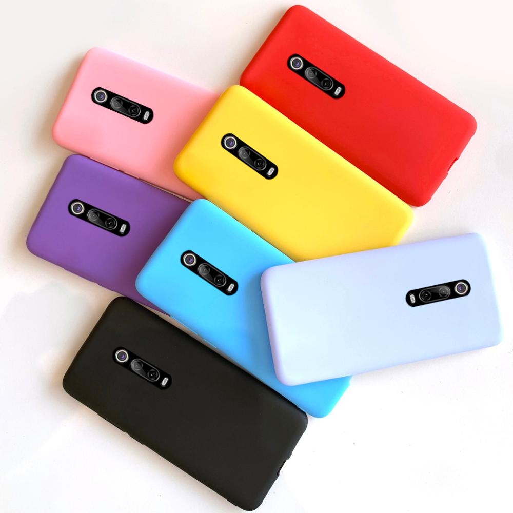 for Xiaomi Mi 9T Pro case cover soft matte tpu silicone phone cases for Xiomi Xiaomi Mi9T Mi 9T 9 T T9 Pro TPro 9TPro case capas(China)