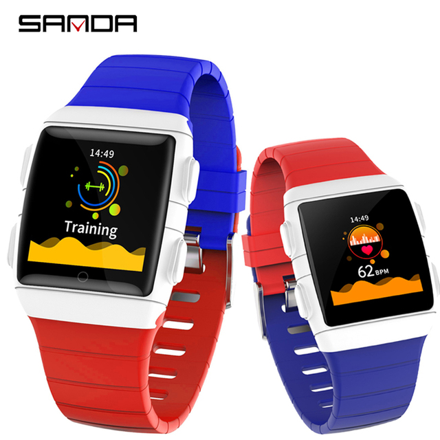 SANDA Sport Smart Watch Men Women Blood Pressure Activity Fitness tracker Heart Rate Monitor Smartwatch for Android IOS