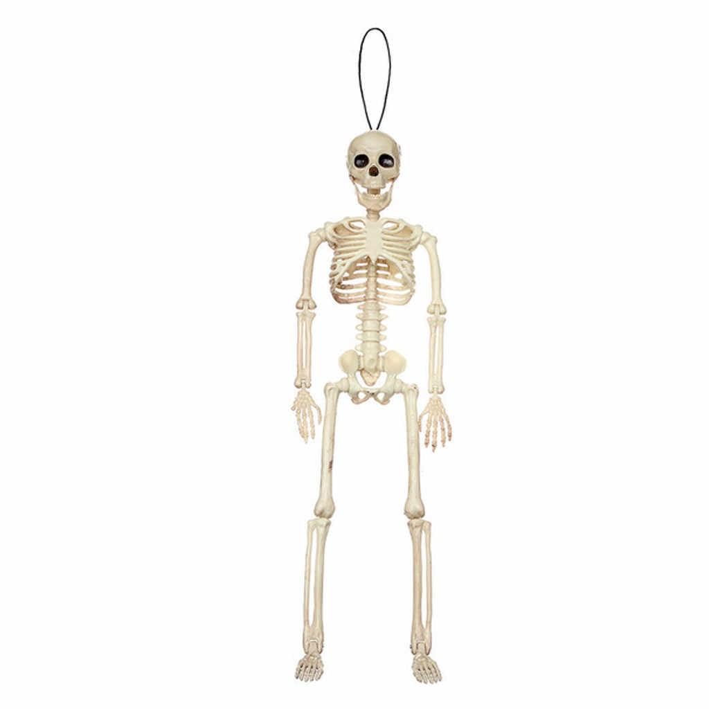 ألعاب الهالويين للمزاح ومخيفة على شكل جمجمة الإنسان تمثال خيف Ossature الدعامة لعبة الحفلات سلسلة المفاتيح Brinquedos 2019 جديد