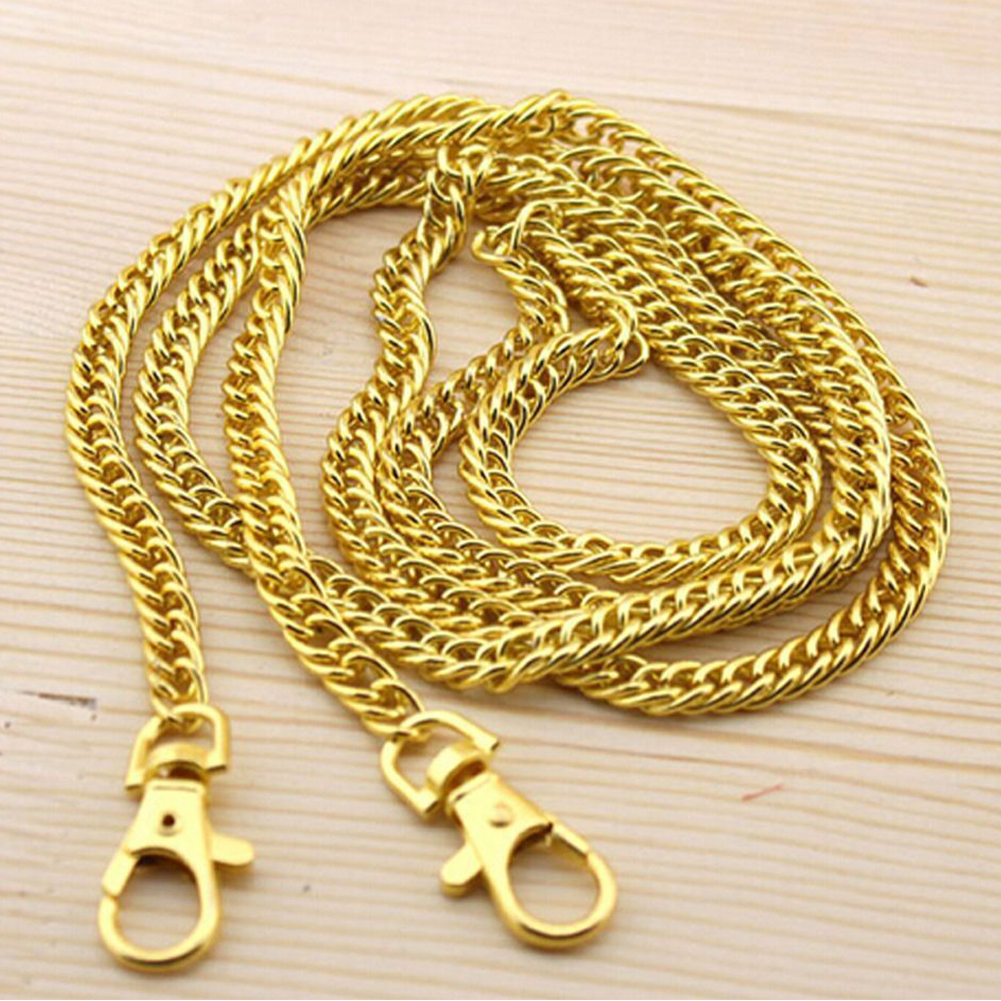 DIY Durable Practical Long Fashion Metal Multi Use Handbag Strap Handle Bag Chain Purse Accessories Hardware Replacement Belt