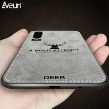 Luxury Cloth Case For Huawei P2