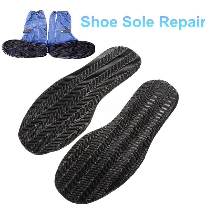 AHKUCI Stick On Rubber Out Soles Shoe Repair Replacement Full Soles Non Slip Rubber Grip Pads