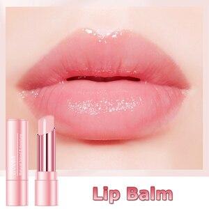 HANDAIYAN бальзам для губ, меняющий температуру, Гигиеническая губная помада, стойкая увлажняющая, восстанавливающая морщины, защита губ, косметика