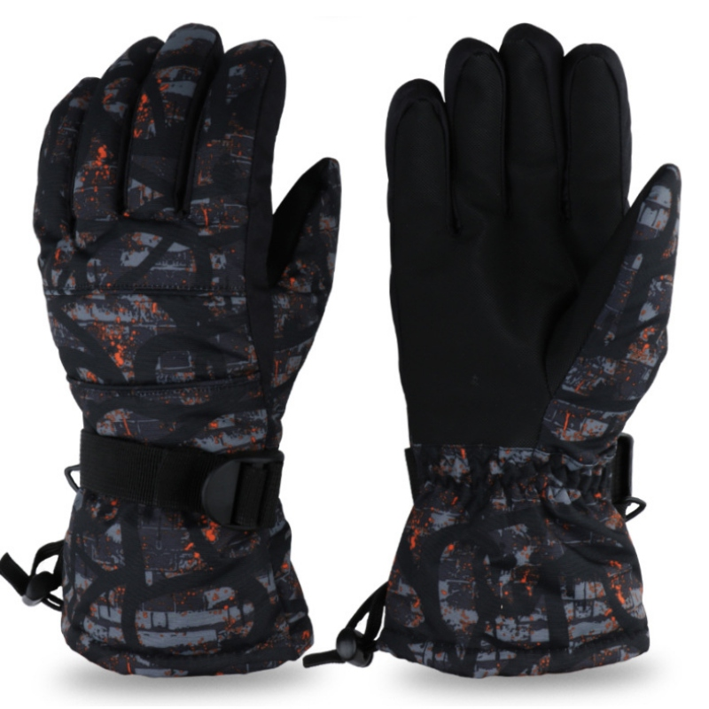 Kids Ski Snowboard Gloves Anti-slip Waterproof Winter Snow Warm Fleece Men Women Motorcycle Snowmobile Riding Gloves NEW!