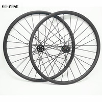 Mountain bike 27.5inch carbon wheels 37x 24mm tubeless 650B carbon wheel novatec D791SB D792SB boost 110x15 148x12 mtb wheelset