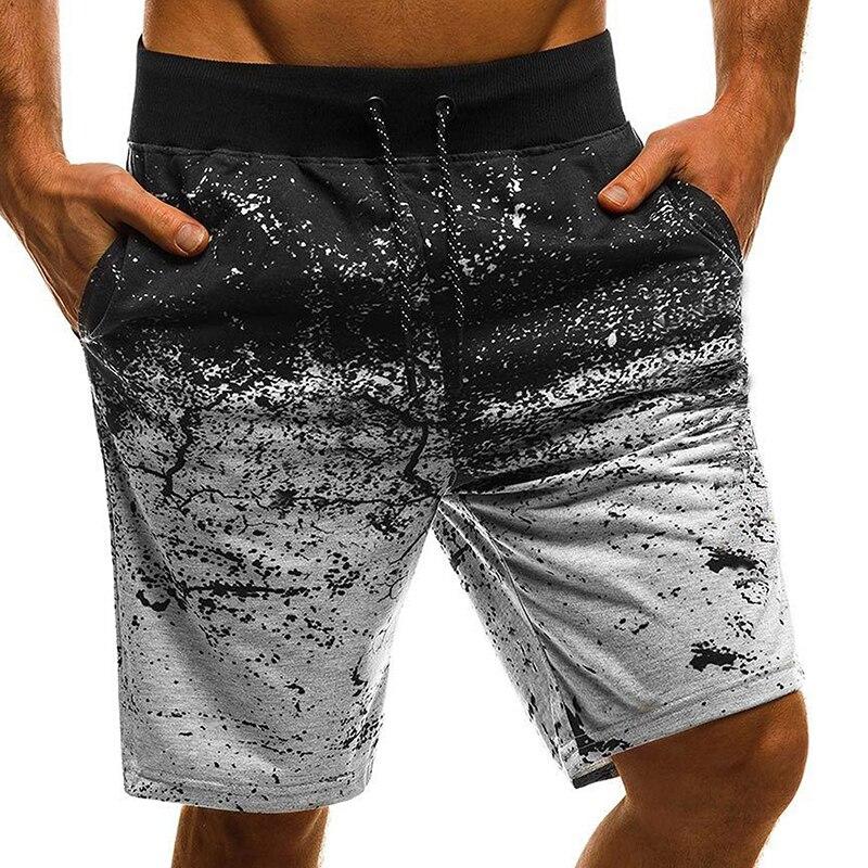 VICABO Mens Shorts Beach Casual Sports Shorts With Pocket Straight Men's Clothing Pantalones Cortos Hombre #w