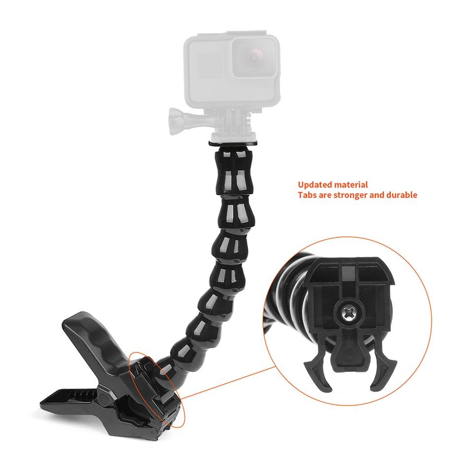 PULUZ Mini Portátil Plegable de Plástico trípode para GoPro HERO 7//6//5//5 Session//4 K6Z2