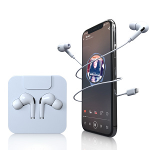 Wired Earphones Lightning Head