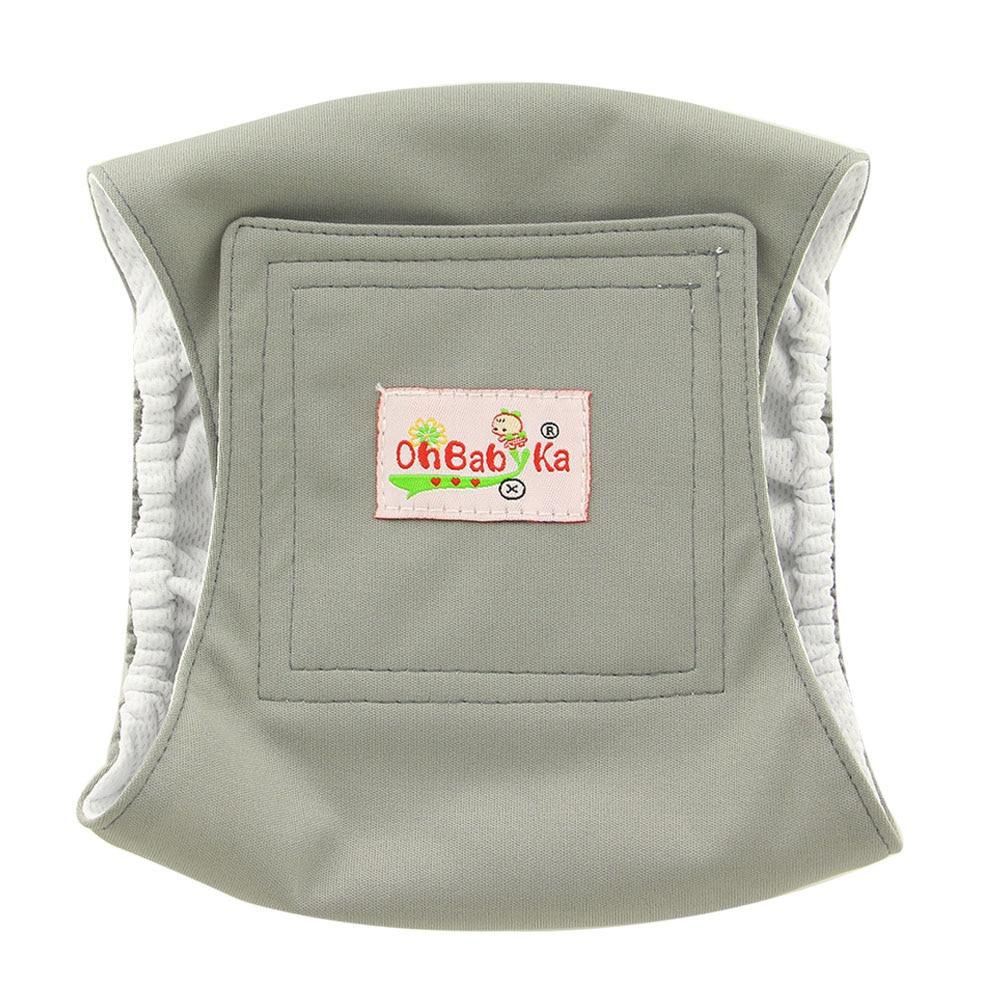 Моющиеся подгузники для собак OhBabyKa, многоразовые стильные прочные мужские подгузники для собак Премиум класса, 3 размера