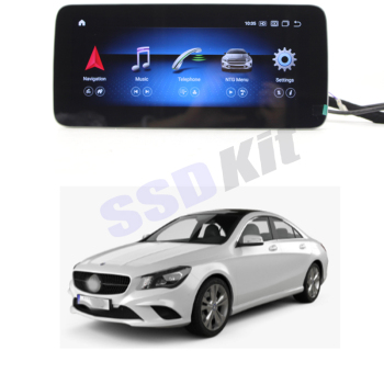 Car Android Internet Multimedia Navi For Mercedes Benz CLA 45 180 200 250 MB C117 NTG GPS Audio Stereo CarPlay 360 Bird View image