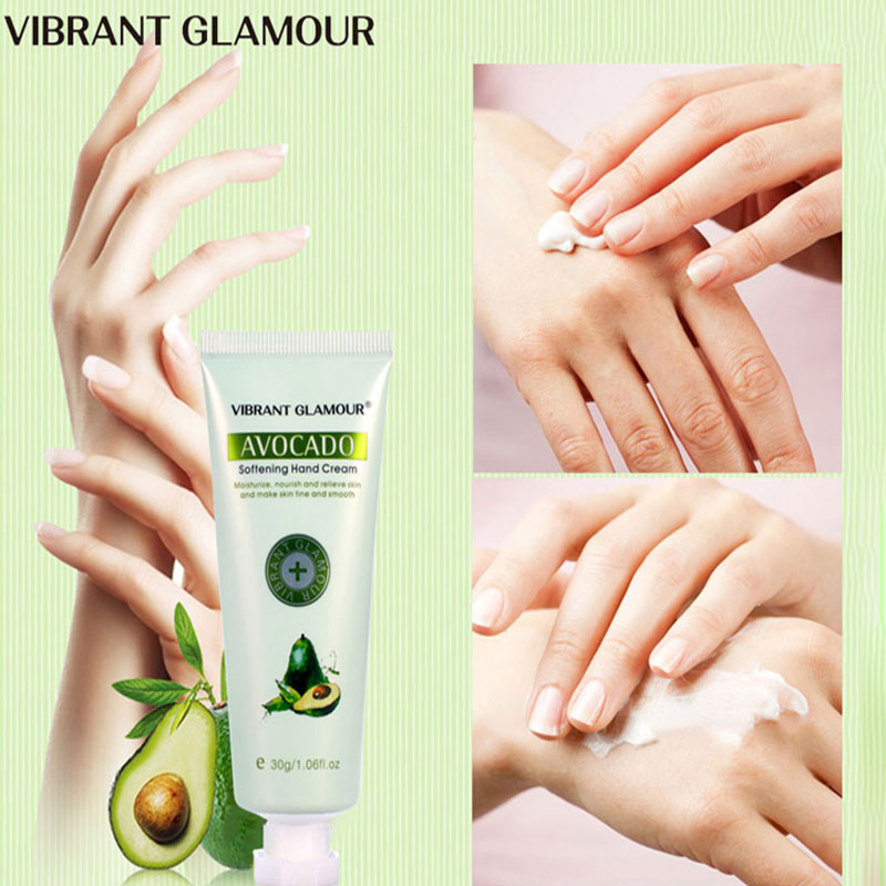 AVOCADO Moisturizing Hand Cream 100% Plants essence extract nourish Anti-cracking Not greasy Available in all seasons Hand Care