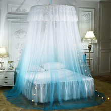 2020 New Hanging Kids Baby Bedding Dome Bed Canopy Cotton Mosquito Net Bedcover Curtain For Baby Kids Reading Playing Home Decor(China)