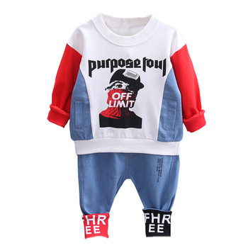 3pcs baby boys clothes sets winter fall birthday outfit toddler cloth kids sport suit for boys cotton warm hoody vest 0 6 years Toddler Baby Boys Clothes Set Spring Kids Clothes Sport Suit Sweatshirt + Pant 2pcs Outfit Children Clothing For Boys Clothing