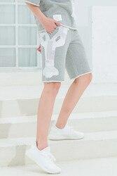 Модные брендовые повседневные женские летние лоскутные спортивные брюки TB THOM, свободные шорты до колена в стиле хип-хоп 2020