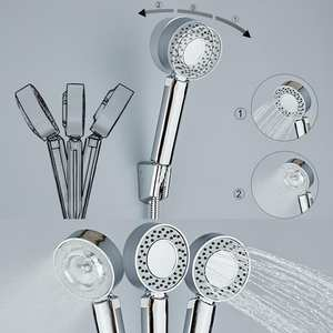 Nozzle Hand-Holder Shower-Head Double-Side High-Pressure Spray Bath SPA Shampoo for High-Quality