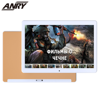 цена на ANRY 10.1 Inch Tablet 3G MKT6580 Quad Core 1GB RAM 16GB ROM GPS Navigation Android 7.0 3G Call WiFi Tablet PC