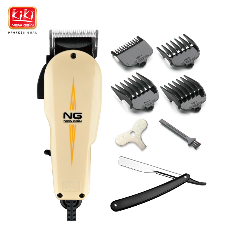 NEWGAIN NG-808 Material Comforts AC Clipper 220V For Barber Use 10W Power Hair Clipper